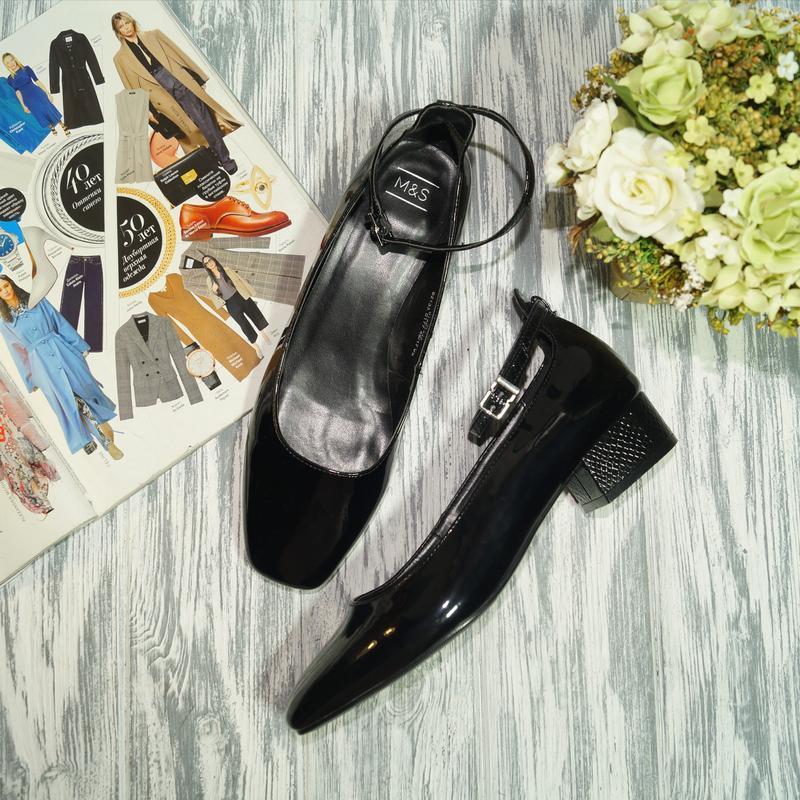🌿бесплатная доставка 🌿marks&spencer. красивые базовые туфли на...