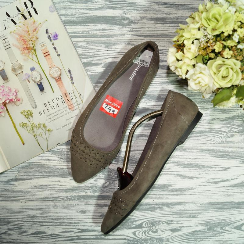 🌿бесплатная доставка🌿graceland. красивые туфли лодочки на низк...