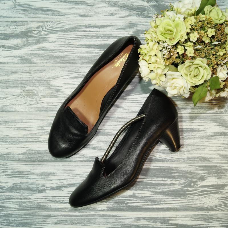 🌿бесплатная доставка 🌿(41) clarks. кожа. фирменные базовые туфли