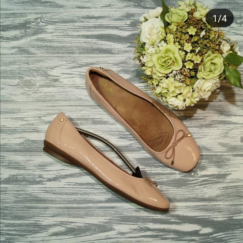 🍁бесплатная доставка🍁(40) clarks. кожа. фирменные туфли на низ...