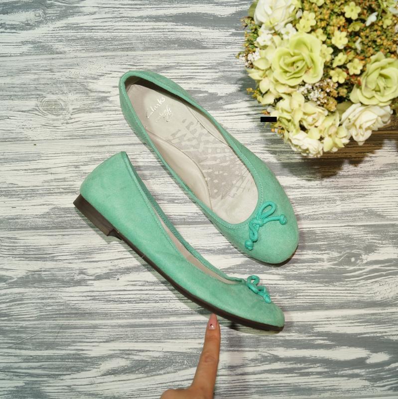 🌿бесплатная доставка🌿39. clarks. фирменные стильные туфли низк...