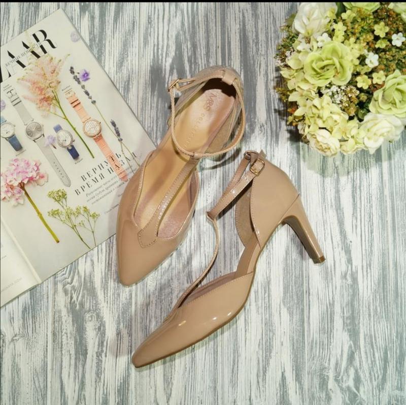 🌿бесплатная доставка🌿40🌿marks&spencer. красивые туфли лодочки ...