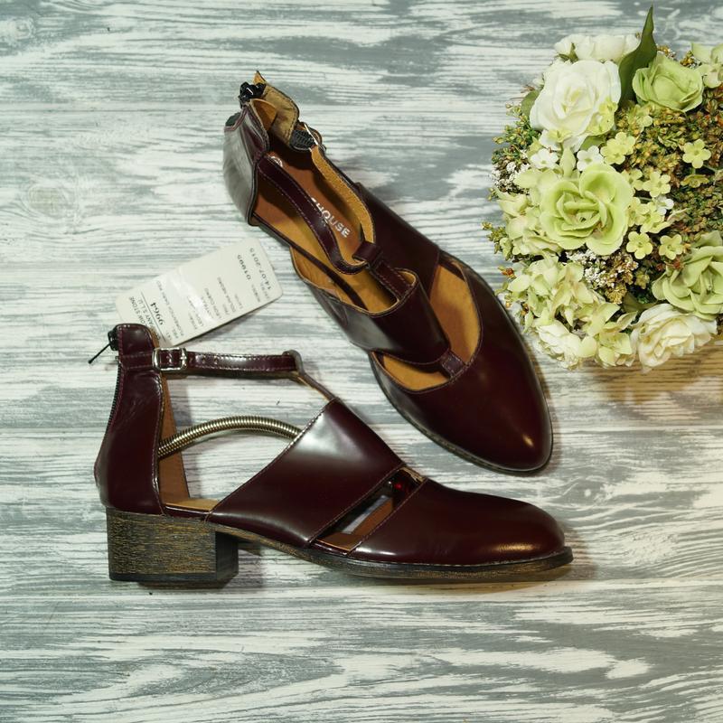 🌿бесплатная доставка🌿40🌿warehouse. кожа. фирменные туфли, боти...
