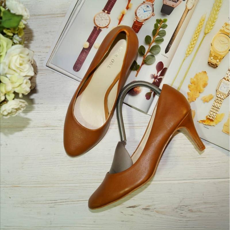 🌿бесплатная доставка 🌿36🌿pier one! кожа! красивые базовые туфл...