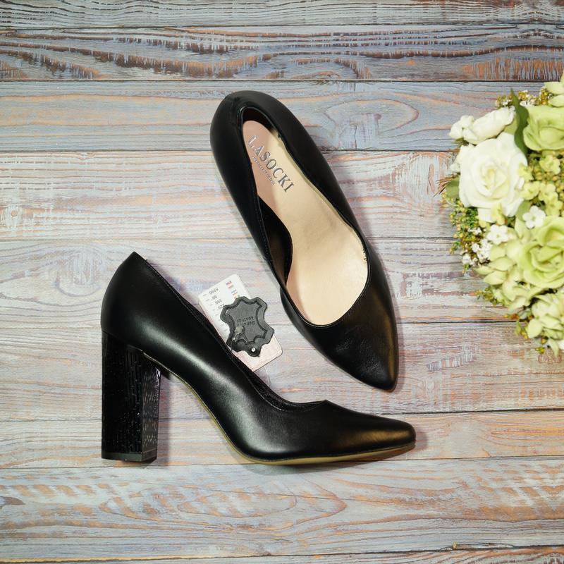 🌿бесплатная доставка🌿37🌿lasocki. кожа. стильные фирменные туфл...