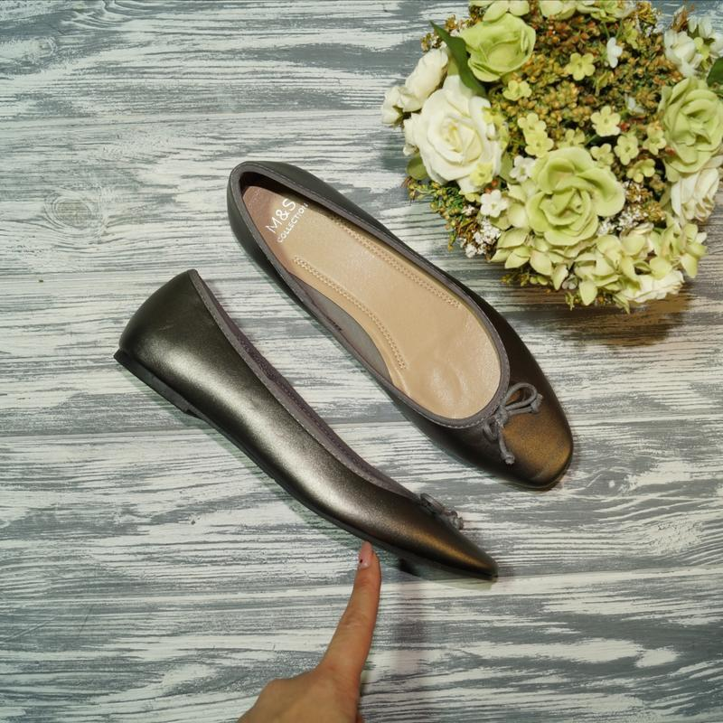 🌿бесплатная доставка🌿39🌿marks&spenser. фирменные стильные туфл...