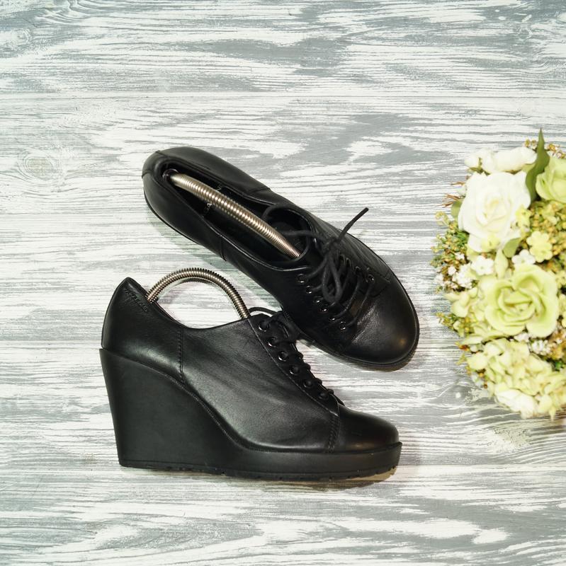 🌿37🌿vagabond. кожа. фирменные туфли на платформе