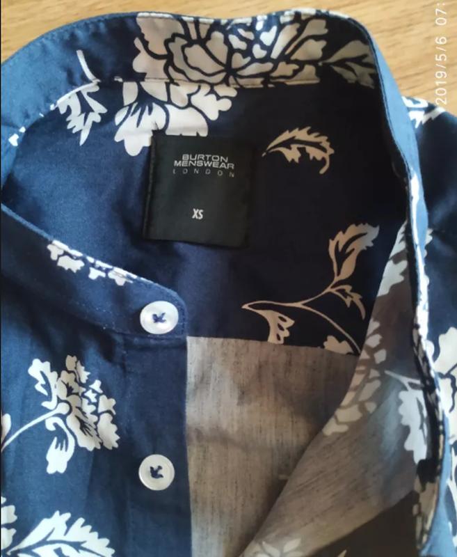 Стильная мужская рубашка, размер хs - Фото 2