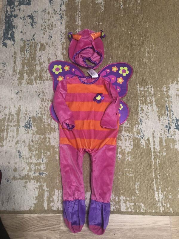 Карнавальный костюм бабочка на 12-18 месяцев!
