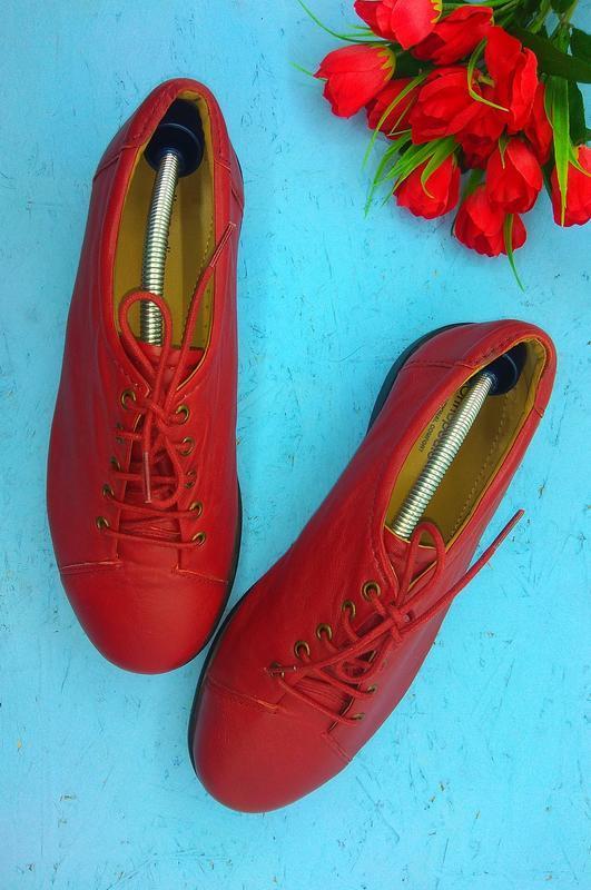 Кожаные кеды , туфли orthopaedic р 40 отлич сост
