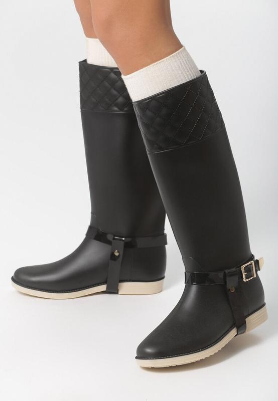 Стильные 💣резиновые сапоги/ботинки с пряжками vices
