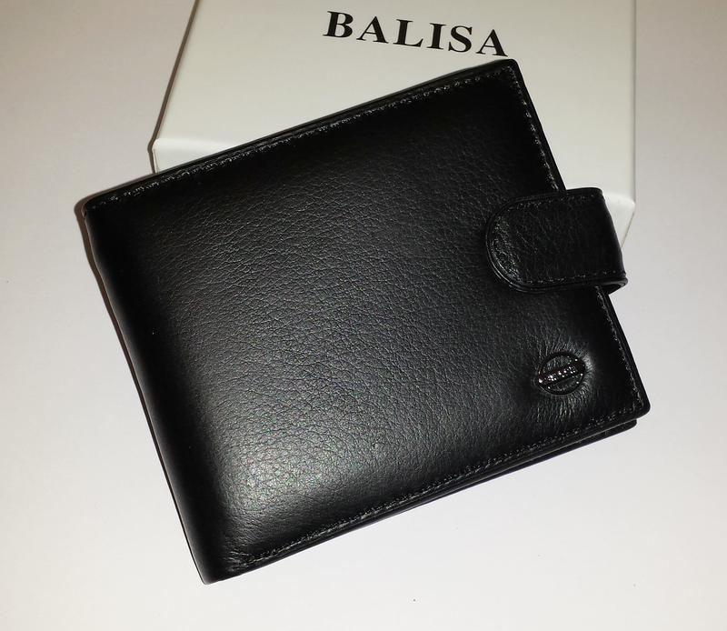 Мужской кошелёк balisa f208-1 из натуральной кожи