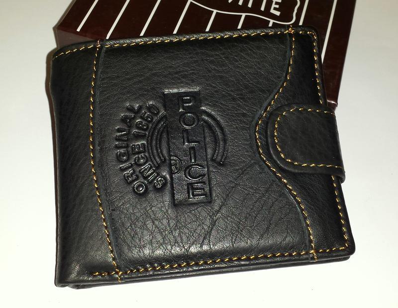 Итальянский кожаный мужской кошелёк