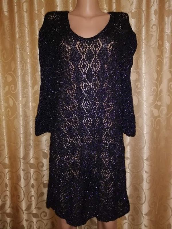 ✨👗✨новое вязаное короткое вязаное платье, туника ручная работа🔥🔥🔥