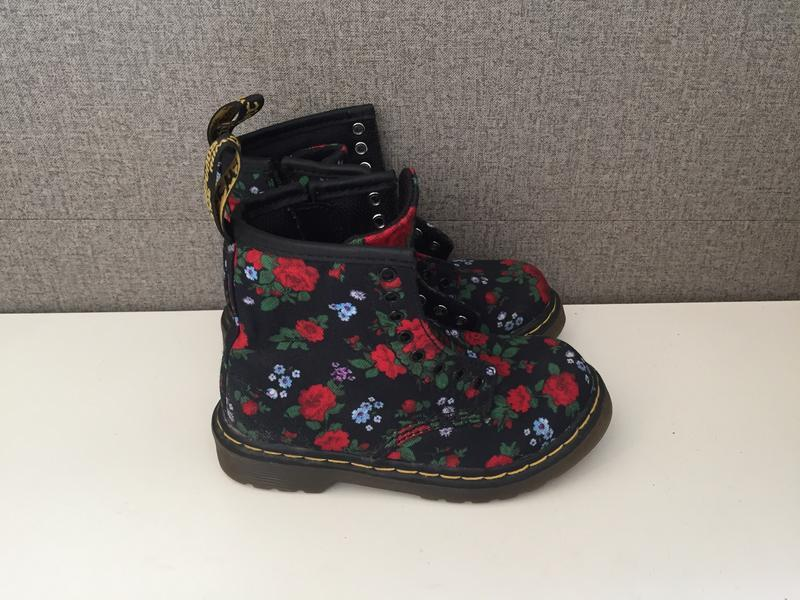 Дитячі черевики dr. martens детские ботинки сапоги