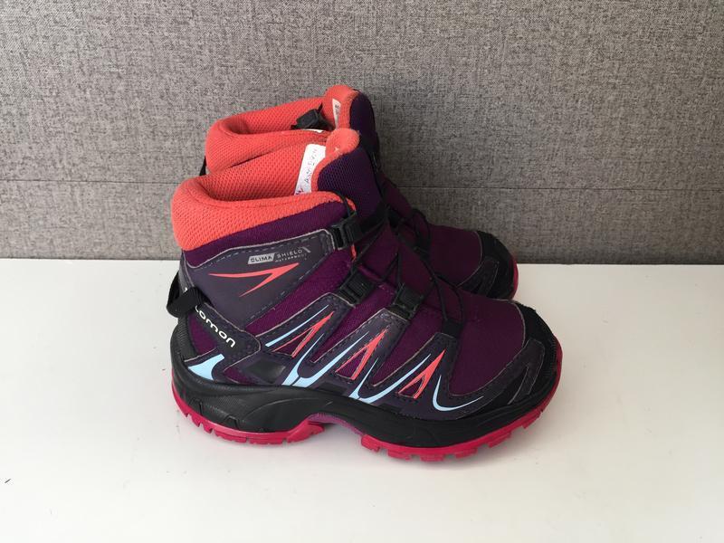 Дитячі черевики salomon детские ботинки сапоги