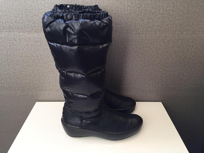 Жіночі чоботи moncler женские сапоги ботинки дутики