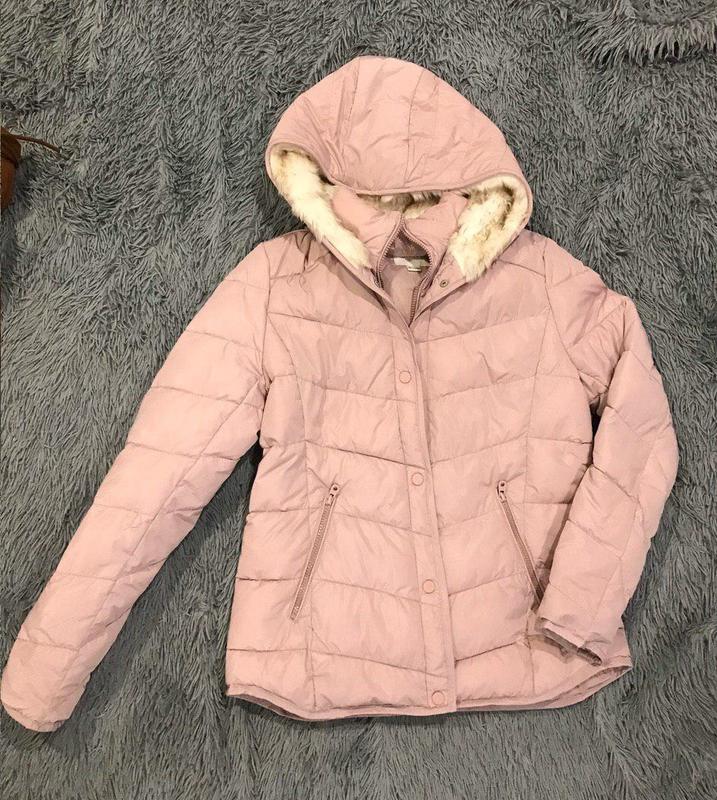 Новая Пудровая куртка Оstin