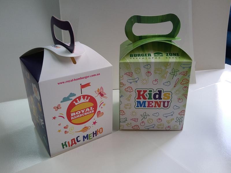 Упаковка для детского меню
