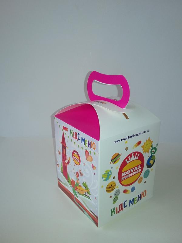 Упаковка для детского меню - Фото 2