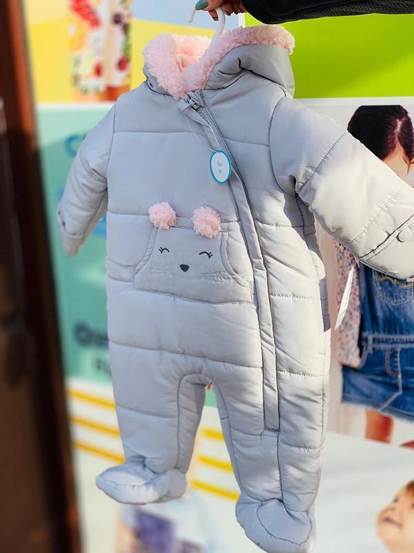 Зимний комбинезон для девочки в наличии