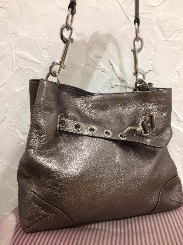 Очень классная стильная большая сумка  100% кожа - Фото 5