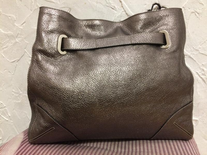 Очень классная стильная большая сумка  100% кожа - Фото 6