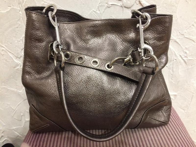 Очень классная стильная большая сумка  100% кожа - Фото 7