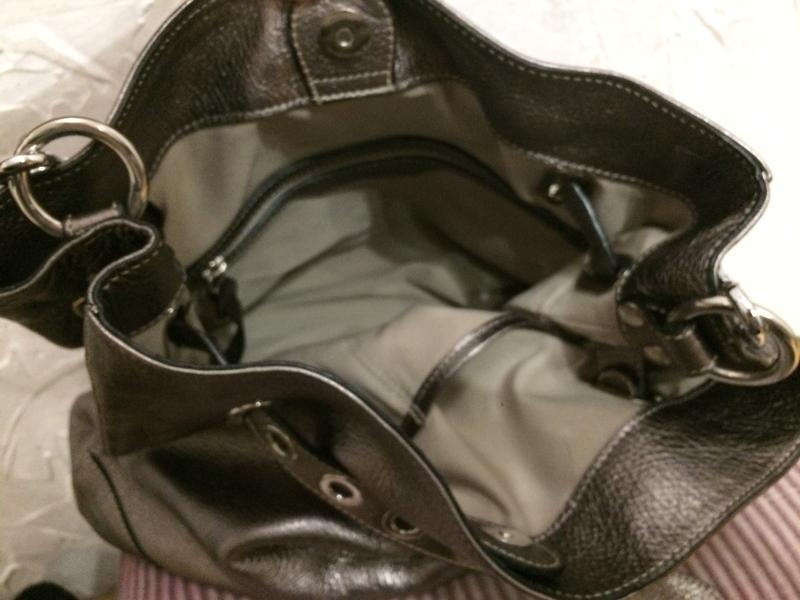 Очень классная стильная большая сумка  100% кожа - Фото 9