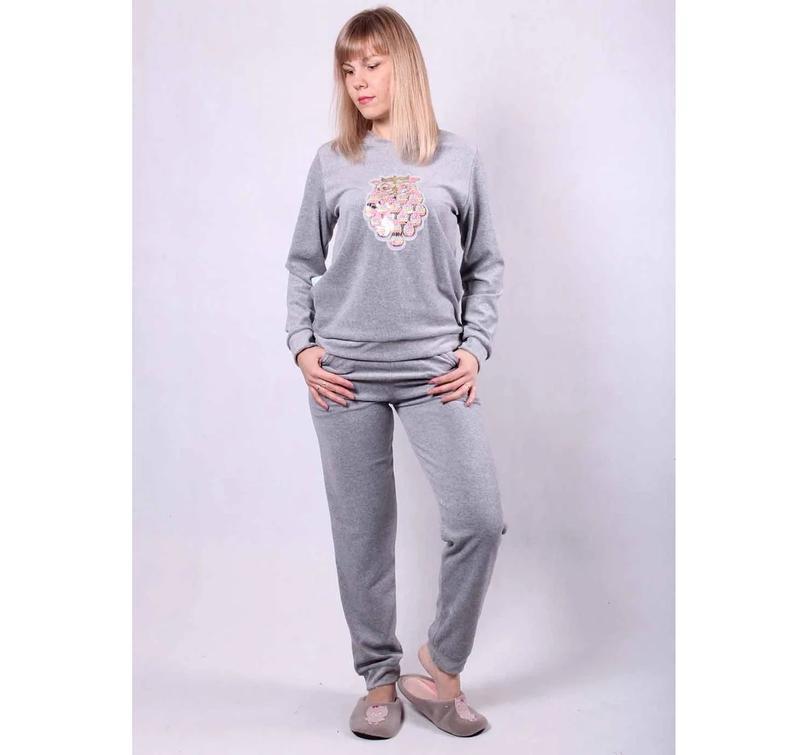 Домашний велюровый костюм, пижама