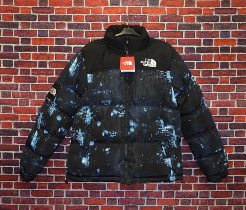 мужская зимняя  куртка Supreme x the north face gore-tex, до - 25
