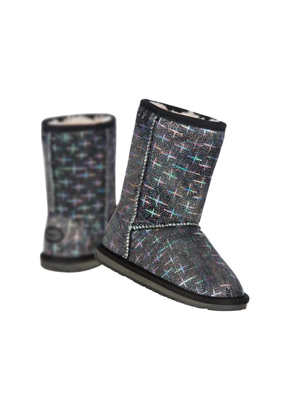 Новые ботинки emu australia с голографическими звёздами угги с...