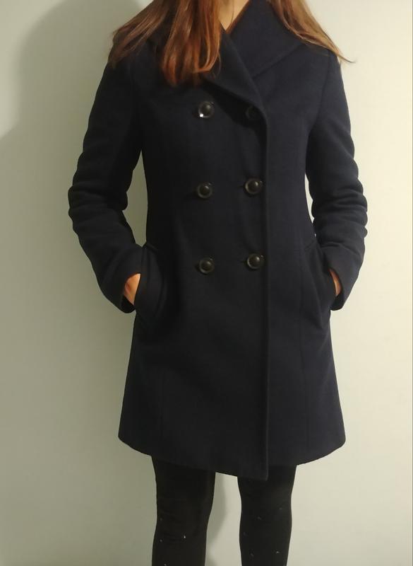 Зимнее пальто (70% шерсть)