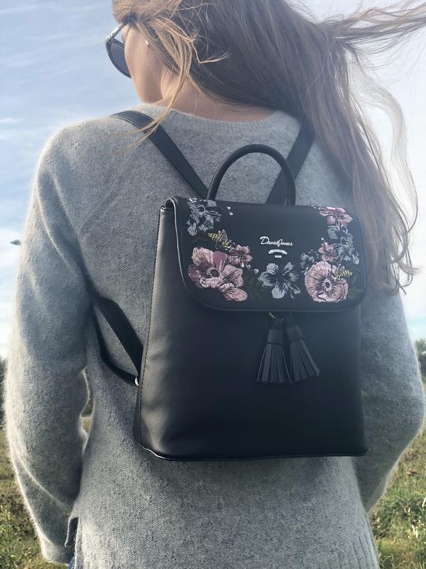 Рюкзак з вишивкою david jones