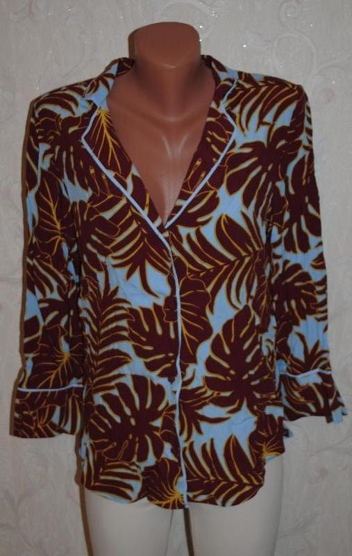 "Блуза из плотного шифона ""h&m"""