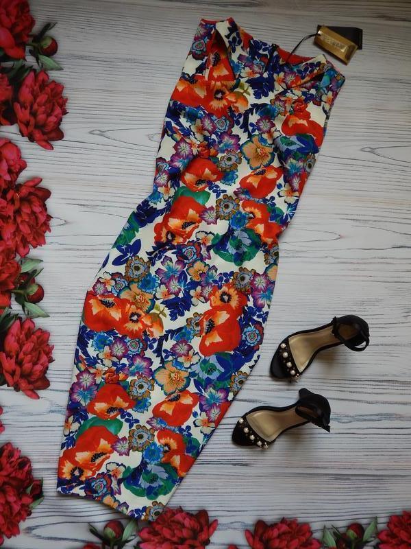 🌿невероятное платье в цветочный принт от per una. размер 2xl-3xl🌿