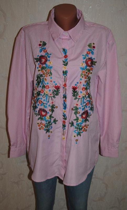 """Блуза с вышивкой """"parisian"""""""