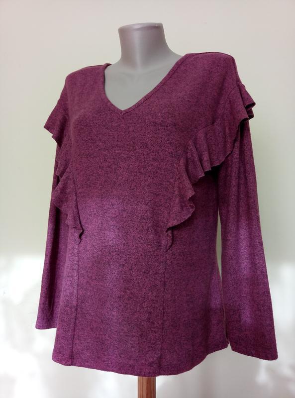 Мягенькая теплая блузочка