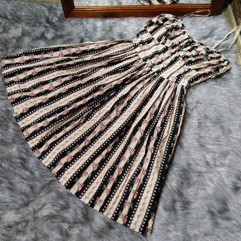 Платье сарафан с цветочным принтом atmosphere