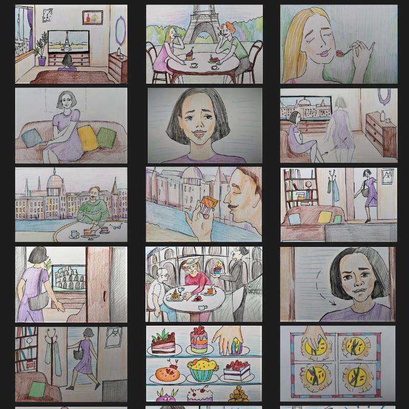 Storyboard/ Раскадровка/Комикс
