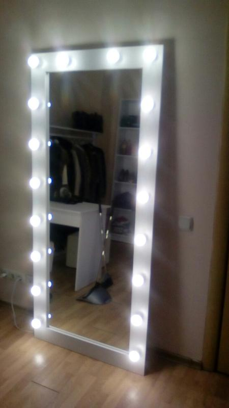 Изготовление зеркал с подсветкой