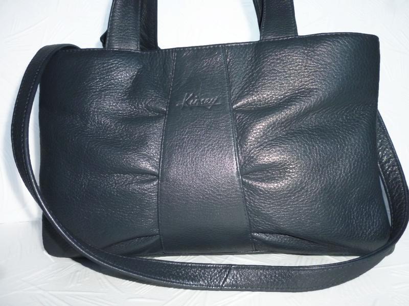 Стильная сумка натуральная кожа kinsey