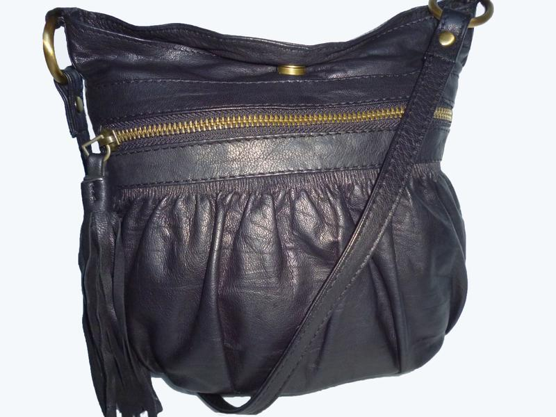 Стильная сумка кроссбоди натуральная кожа warehause
