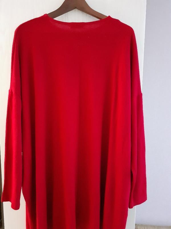 Платье  трикотажное, платье оверсайз/vovk - Фото 2