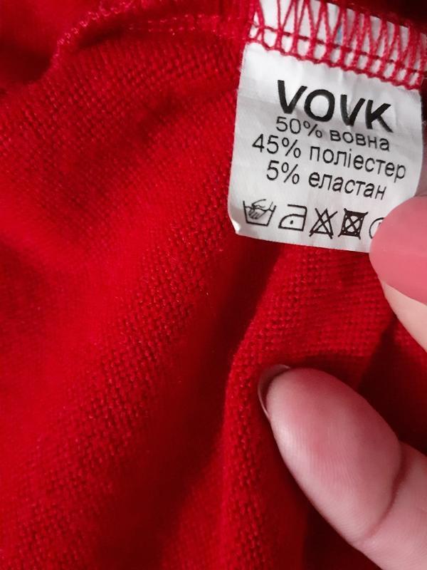 Платье  трикотажное, платье оверсайз/vovk - Фото 6