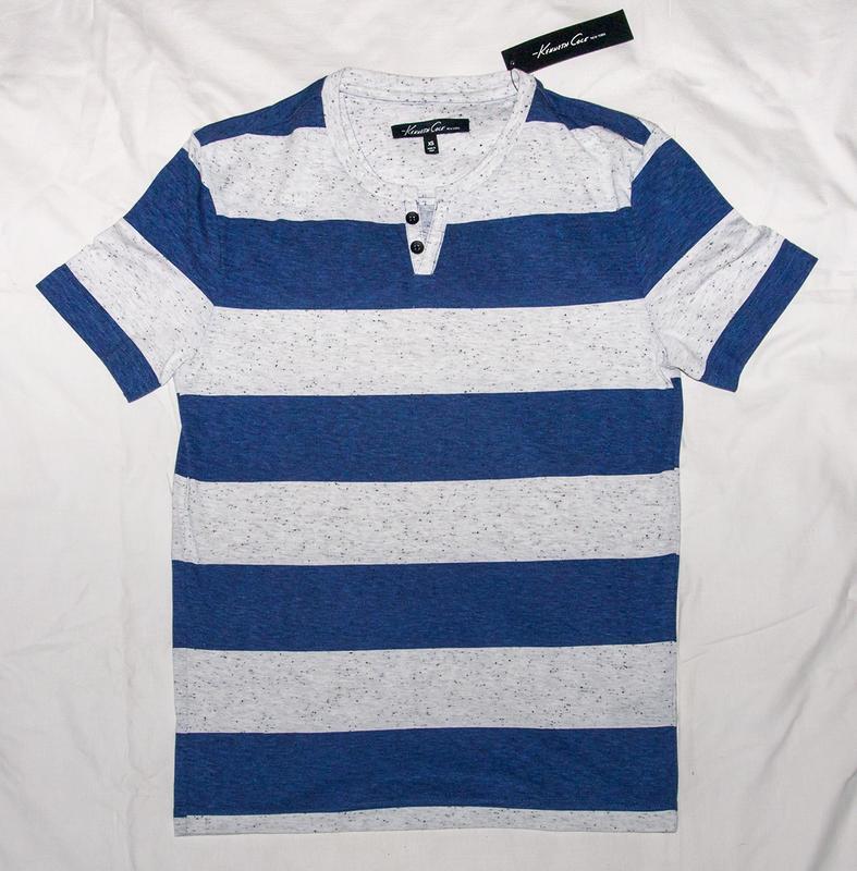 Фирменная мужская футболка хенли KENNETH COLE (XS) новая из США
