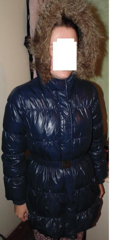 Куртка пуховик пальто натуральны пух united colors of benetton...