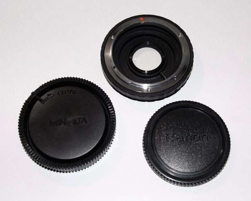 Canon FD - MA Sony Alpha AF Minolta - адаптер переходник - Фото 3