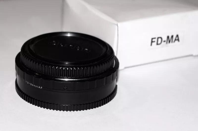 Canon FD - MA Sony Alpha AF Minolta - адаптер переходник - Фото 4