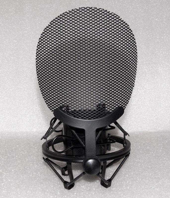 """Крепление на стойку """"паук"""" + поп фильтр для студийного микрофона - Фото 4"""